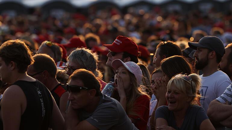 Kongre baskınından sonra bir ilk Trump yeniden sahnede...