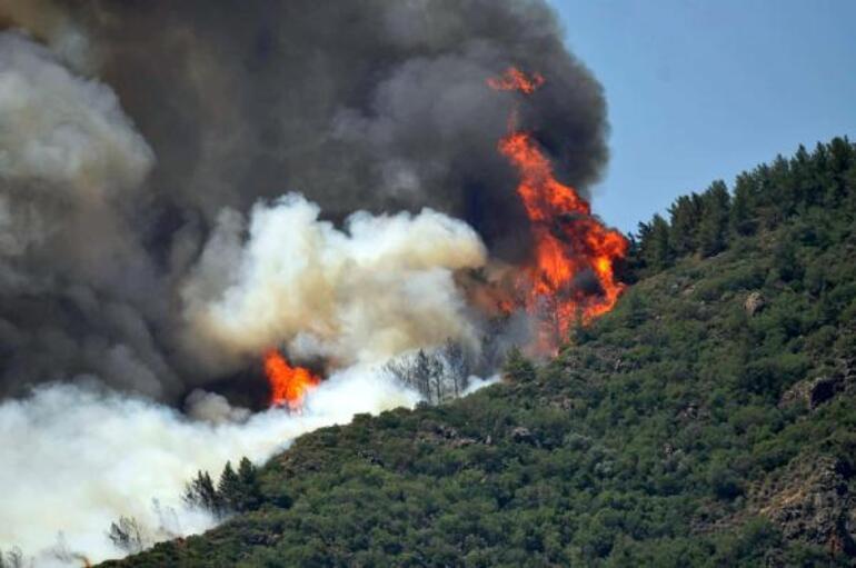 Son dakika: Marmariste büyük yangın Acı haber: 1 şehit
