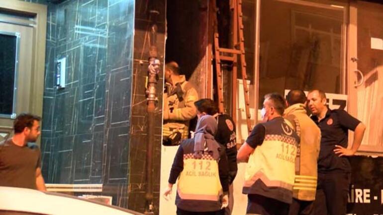 Bahçelievlerde 6. kattan düşen kadın hayatını kaybetti