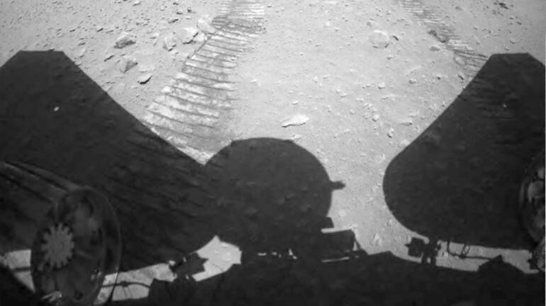Zhurong'un, Marstan gönderdiği videolar yayımlandı