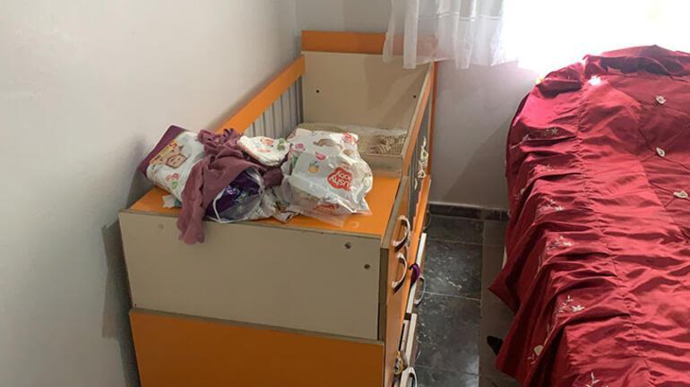 1 aylık Hatice bebek yataktan düşerek öldü
