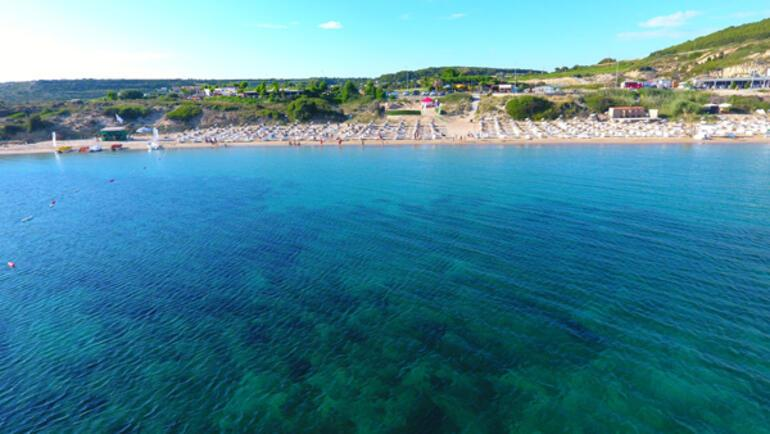 Ata Demirerden Bozcaada sahilleri temiz mesajı