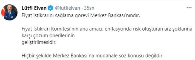 Elvandan Merkez Bankası açıklaması