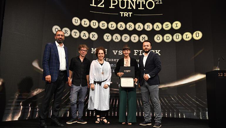 """""""12 Punto TRT Senaryo Günleri""""nde ödüller sahiplerini buldu"""
