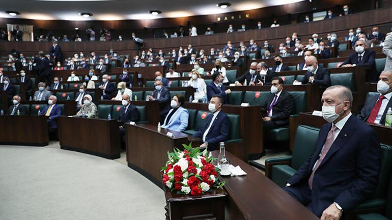 Son dakika... Cumhurbaşkanı Erdoğandan grup toplantısında flaş açıklamalar