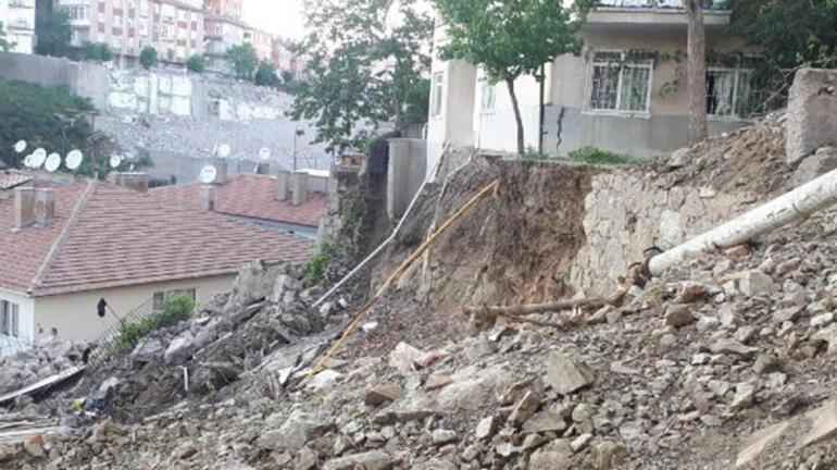Başkentte korku dolu dakikalar 5 bina tahliye edildi