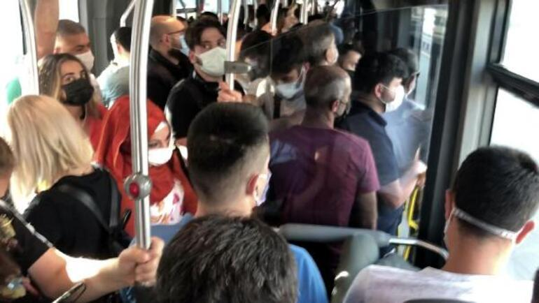 Metrobüs de İstanbul trafiği de normale döndü