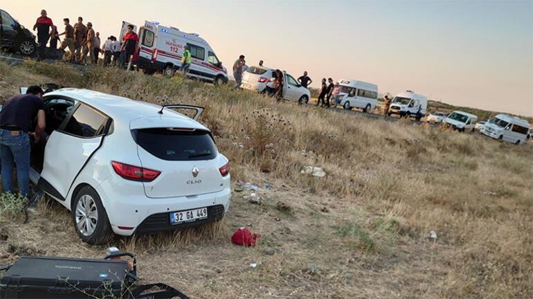 Mardinde feci kaza 6 yaralı var