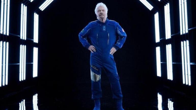 Richard Branson uzay yolculuğu için tarih geldi