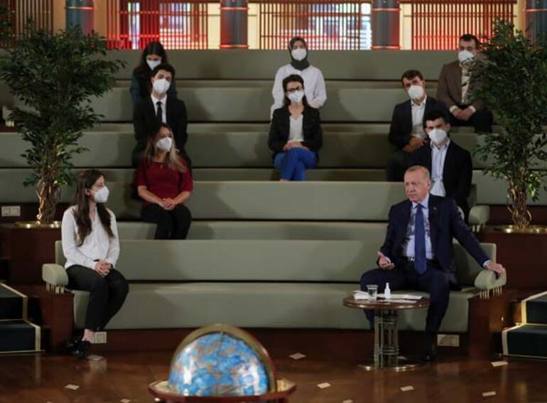 Son dakika haberi: Gençlerle buluşan Erdoğandan dikkat çeken Kanal İstanbul açıklaması