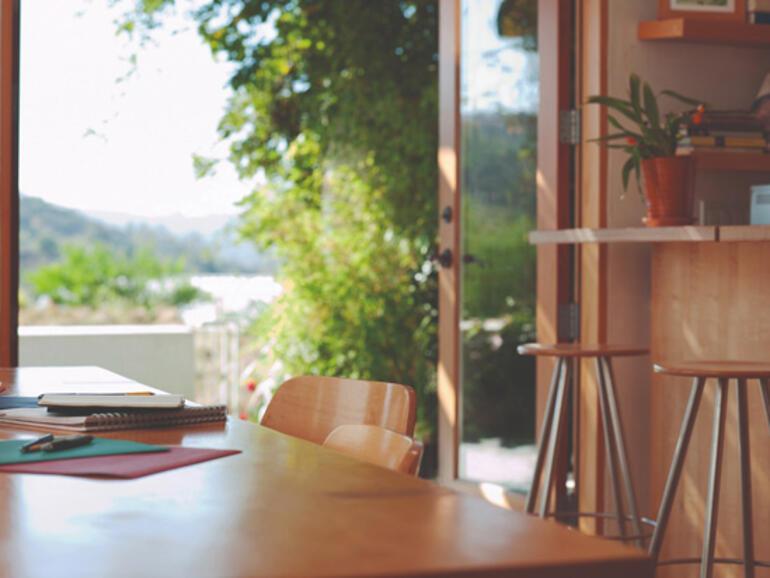 Yazlık evlerde yaşam ve iş ahengi