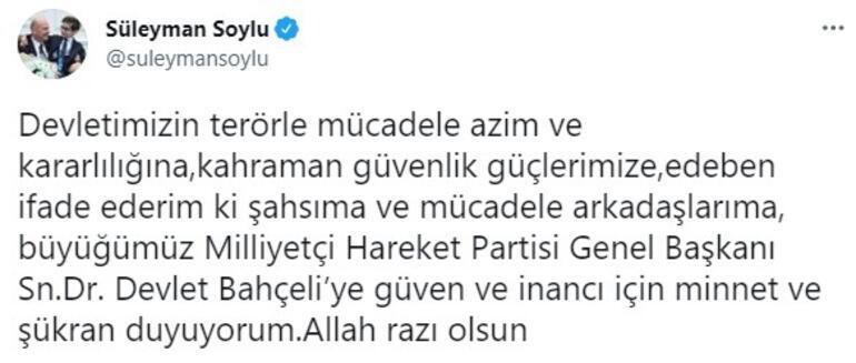 Son dakika... MHP lideri Bahçeliden Bakan Soyluya destek: İtibar suikastını kabul etmiyoruz