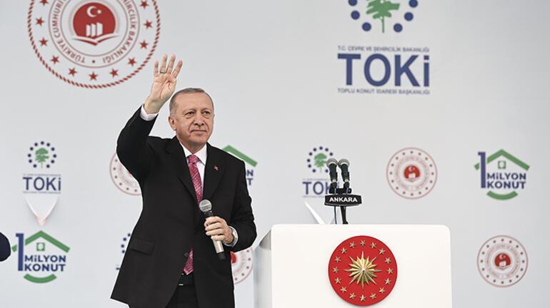 Son dakika: TOKİden 1 milyonuncu konut Erdoğan: Hizmet verilmeyen hiçbir kesim bırakmadık