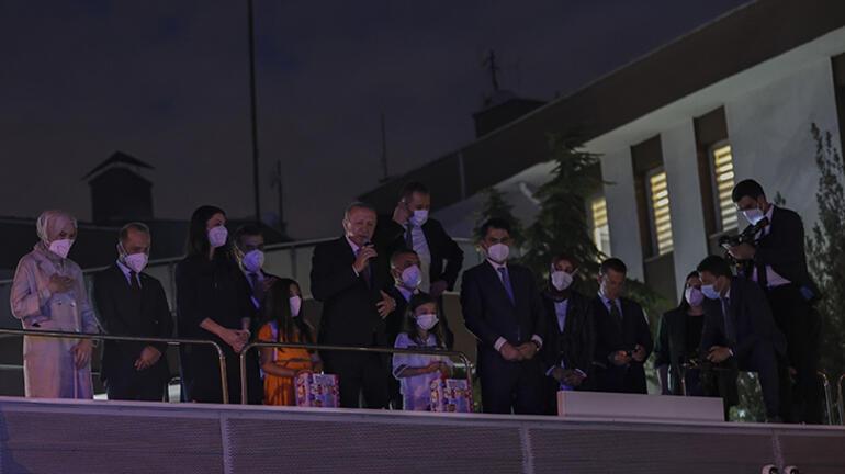Son dakika: Cumhurbaşkanı Erdoğan, Sincanda vatandaşlara hitap etti
