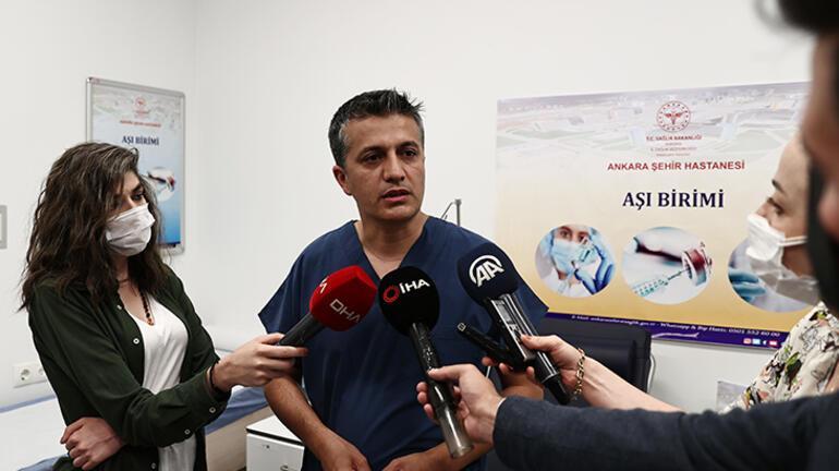 Ankara İl Sağlık Müdürü Doç. Dr. Akelmadan gençlere aşı çağrısı