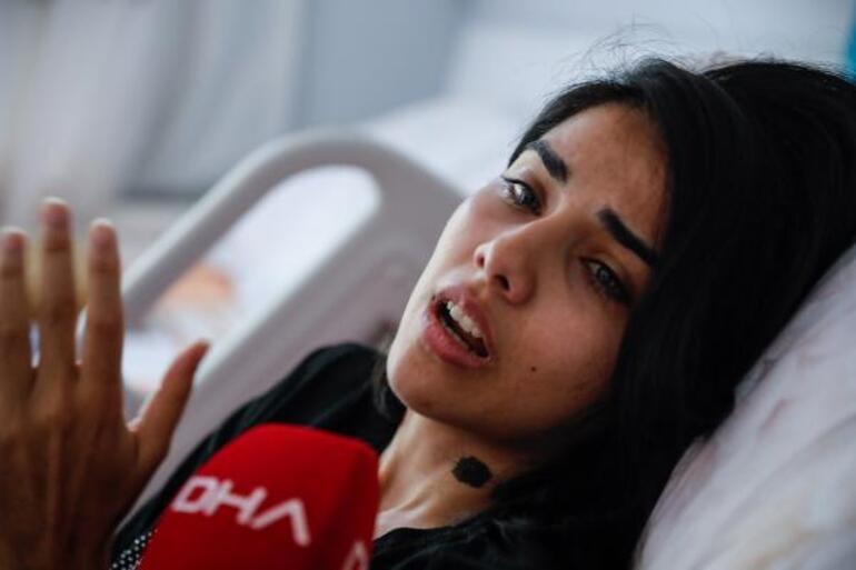 Adliyeye sedye ile gelen Sabiha: Akşam 9dan sabah 9a kadar beni dövdü