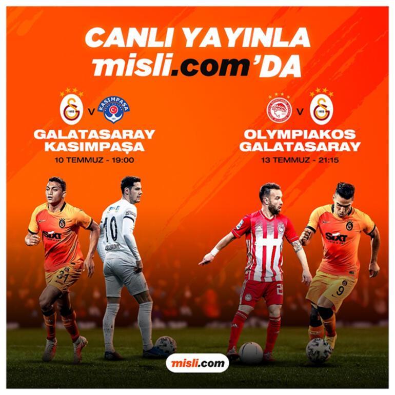 Son dakika - Galatasarayın hazırlık maçları ücretsiz ve şifresiz canlı yayınla misli.comda