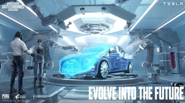 PUBG Mobilea Tesla otomobillerinin geldiği yeni güncelleme