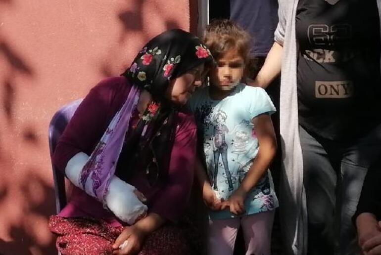Katlettiği eşini 7 yaşındaki kızlarını öldürmekle tehdit etmiş