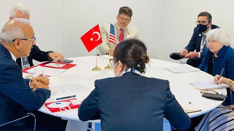 Bakan Elvan, Almanya Başbakan Yardımcısı ve Maliye  Bakanı Scholz ile görüştü