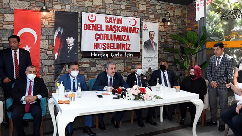 BBP lideri Destici: Türkiye 82 anayasasından kurtulmalı