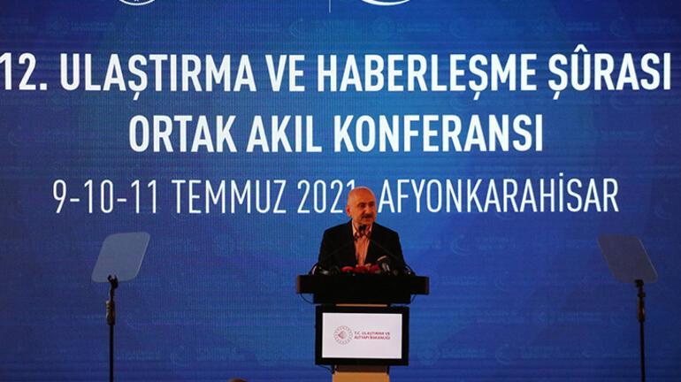Bakan Karaismailoğlu: İstanbul Boğazından yılda 43 bin gemi geçiyor