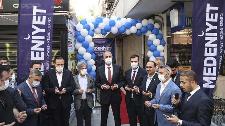 Bakan Gül, Medeniyet Derneği Ankara Temsilciliğinin açılışını gerçekleştirdi