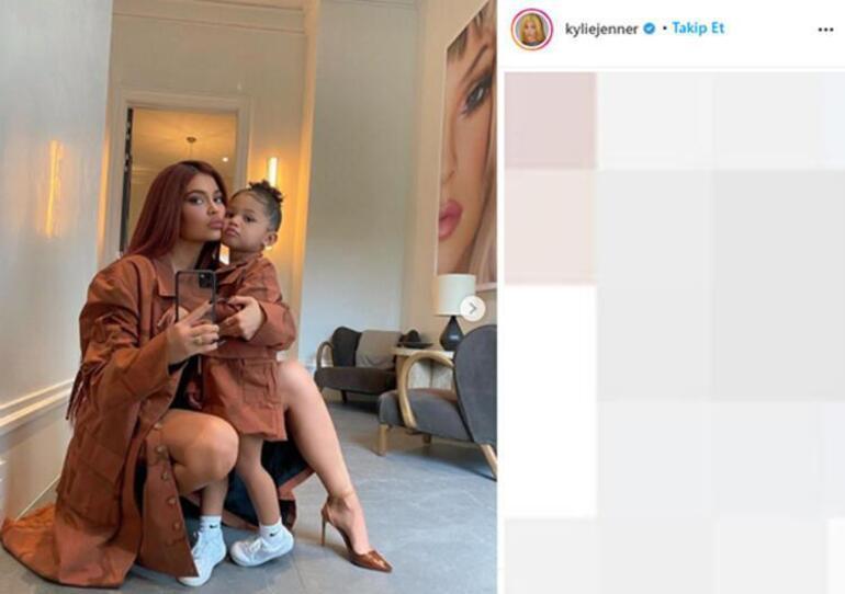Kylie Jenner kızı Stormi'nin yeni marka çıkaracağını duyurdu