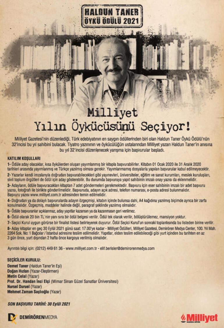 Türk Edebiyatının Değerli Yarışması Haldun Taner Öykü Ödülü