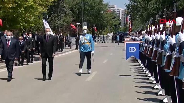 Son dakika... İlk bombanın düştüğü yerde tören Cumhurbaşkanı Erdoğandan açıklamalar