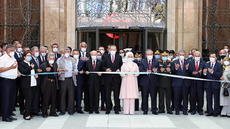 Son dakika... 15 Temmuz Müzesi açıldı Cumhurbaşkanı Erdoğan da katıldı