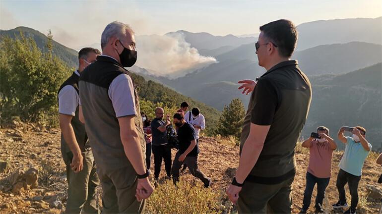 Son dakika: Bakan Pakdemirliden orman yangınları açıklaması: 18i kontrol altında