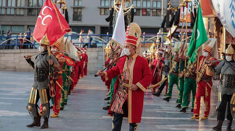 Jandarma Genel Komutanlığı Mehteran Birliği, 15 Temmuz için konser verdi