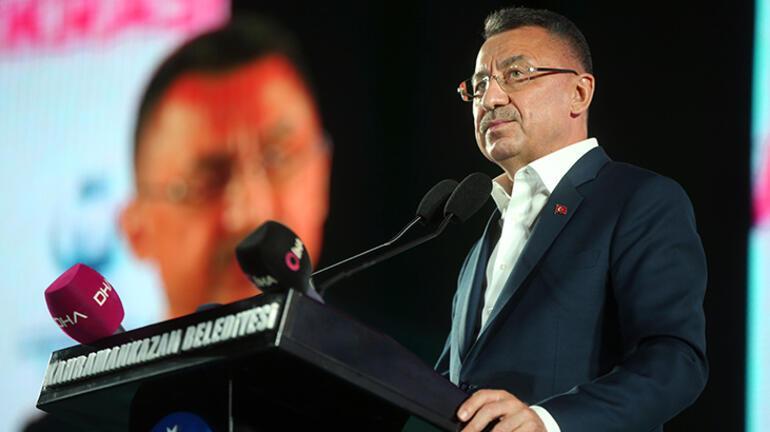 Cumhurbaşkanı Yardımcısı Oktay: Hain teröristlerin kökünü kazıyacağız