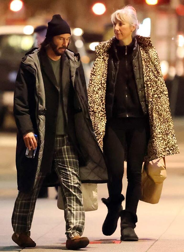 Keanu Reeves ile Alexandra Grant evleniyor mu