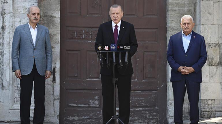 Son Dakika haberler... Cumhurbaşkanı Erdoğan açıkladı: Müjdesini parlamentoda vermek istiyorum
