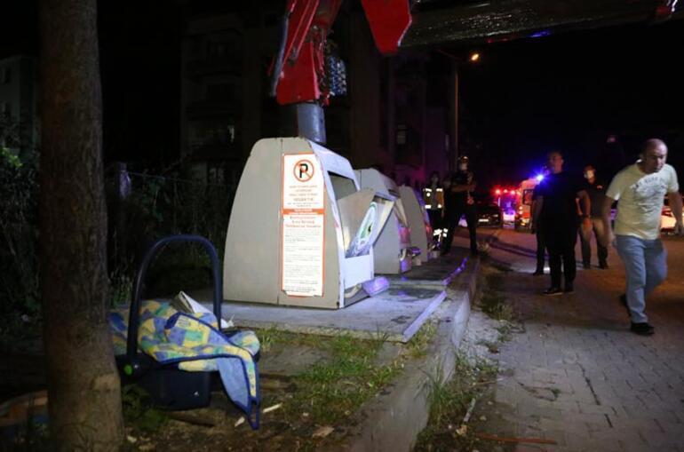 Çöpe bebek atıldı iddiası mahalleyi karştırdı
