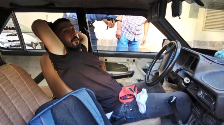 Otomobilde uyurken yakalandı Verdiği cevap şoke etti...