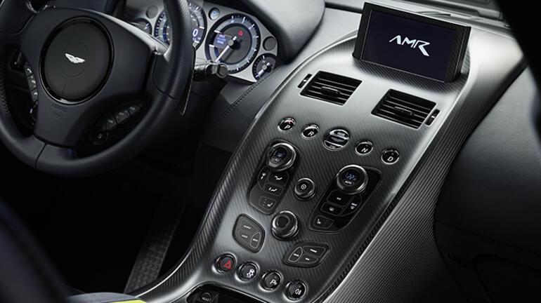 Aston Martinin lüks sedanı Rapide AMR