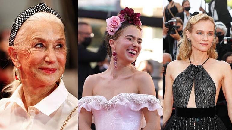 Şimdi moda bakımlı doğallık Cannes Film Festivalinde öne çıkan 2021 güzellik trendleri