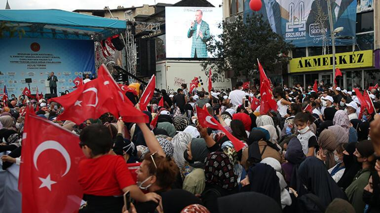 Son dakika haberi Cumhurbaşkanı Erdoğan, canlı yayında tarih verdi: 2023e kadar bitireceğiz