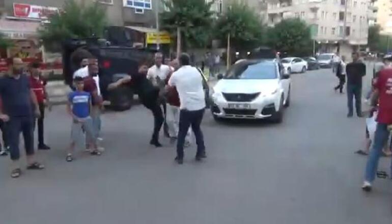 Diyarbakırda gazetecilere saldırı