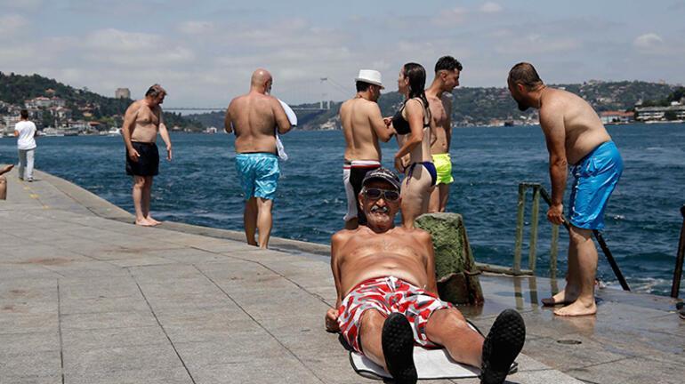 Son dakika I İstanbulda hissedilen sıcaklık 42 derece oldu
