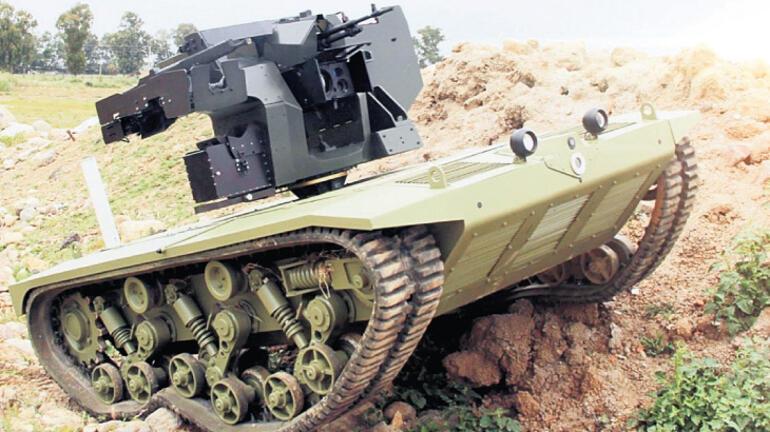 İnsansız tank
