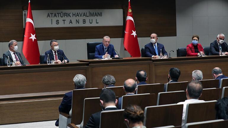Son Dakika: Cumhurbaşkanı Erdoğandan KKTC ziyareti öncesi flaş açıklamalar