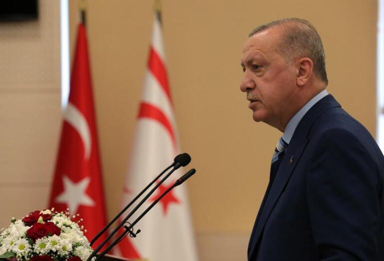 Son dakika haberi... KKTCde tarihi gün Cumhurbaşkanı Erdoğan müjdeyi açıkladı