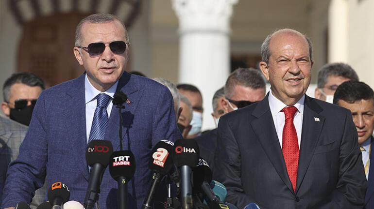 Son dakika: Erdoğan KKTCden ilan etti: Bundan sonra da böyle devam ettireceğiz