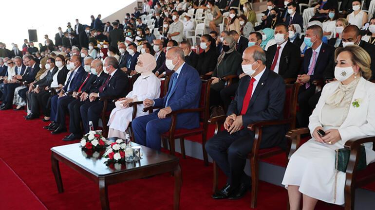 KKTC Cumhurbaşkanı Tatar: Tarihi gerçekleri çarpıtmaya devam ediyorlar