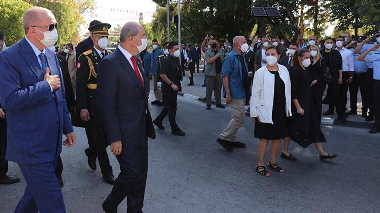 Son dakika... Cumhurbaşkanı Erdoğan KKTCdeki tarihi törende konuştu: Bizden kimse beklemesin