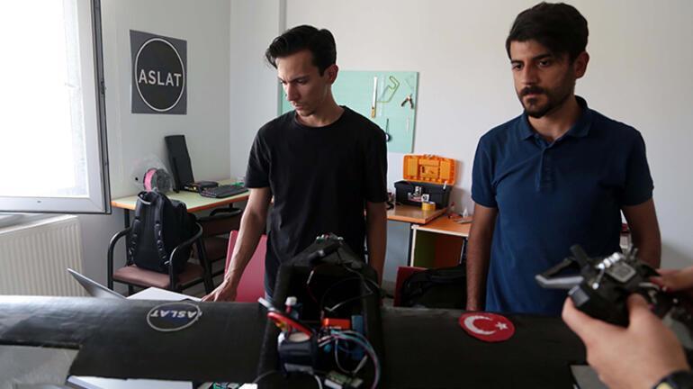 Üniversite öğrencilerinin ürettiği Şahi 25 adlı İHA, Teknofeste hazırlanıyor